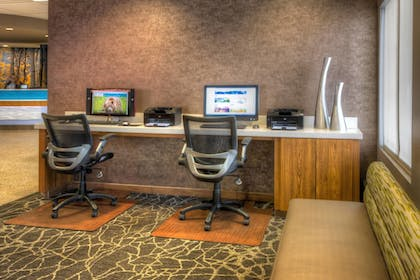 Business Center | SpringHill Suites Anchorage University Lake
