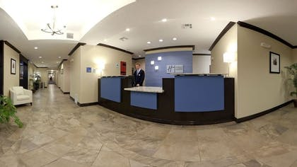 Lobby | Holiday Inn Express Hotel & Suites Albuquerque Airport