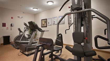 Fitness Facility | Best Western Plus Greenville South