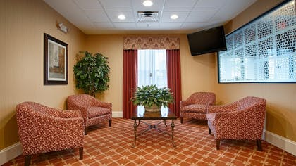 Lobby Sitting Area | Best Western Plus Greenville South