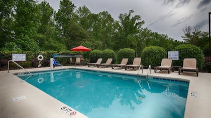 Pool | Best Western Plus Greenville South