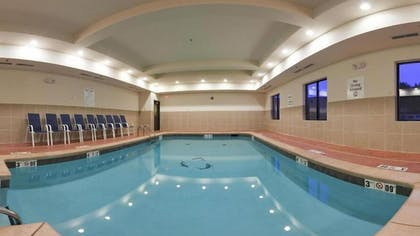 Indoor Pool | Holiday Inn Express & Suites Guthrie