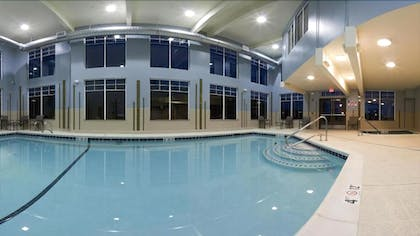 Indoor Pool | Holiday Inn Express Hotel & Suites NORTH SEQUIM