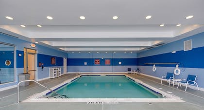 Indoor Pool | DoubleTree by Hilton Hotel Raleigh - Cary