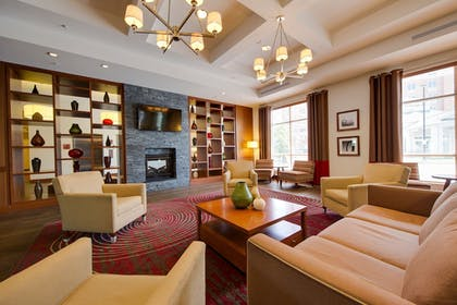 Lobby Sitting Area | DoubleTree by Hilton Hotel Raleigh - Cary