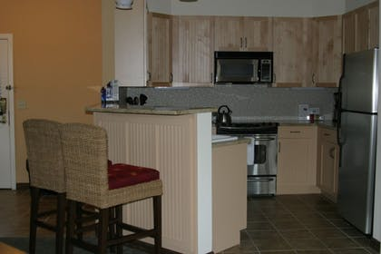 In-Room Kitchen | Mountain Creek
