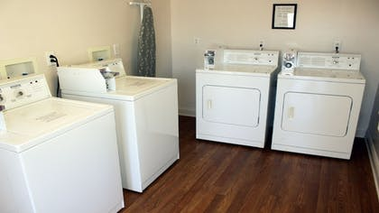 Laundry Room | Affordable Suites Salisbury
