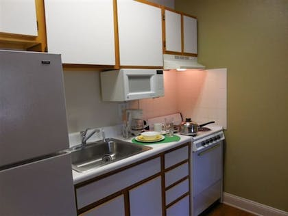 In-Room Kitchen | Affordable Suites Salisbury