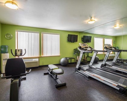 Gym | Hotel Med Park, an Ascend Hotel Collection Member