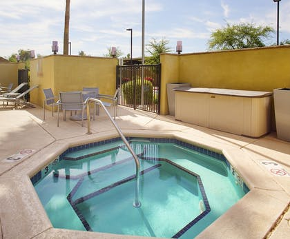 Outdoor Spa Tub | TownePlace Suites by Marriott Goodyear