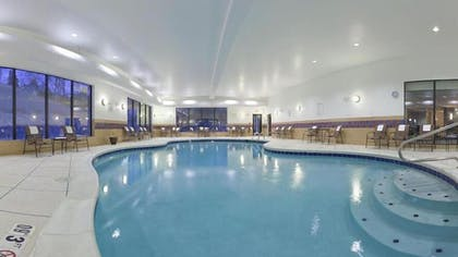 Indoor Pool | Holiday Inn Express Hotel & Suites Zanesville North
