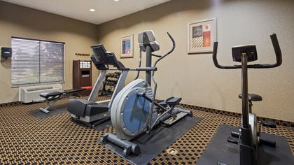 Fitness Facility | Best Western Plus Goodman Inn & Suites
