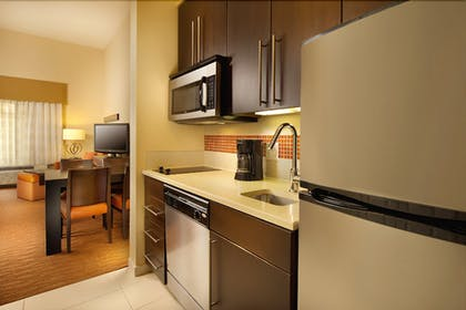 In-Room Kitchenette   TownePlace Suites by Marriott San Antonio Downtown
