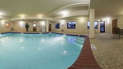 Indoor Pool | Holiday Inn Express Hotel & Suites Mount Airy