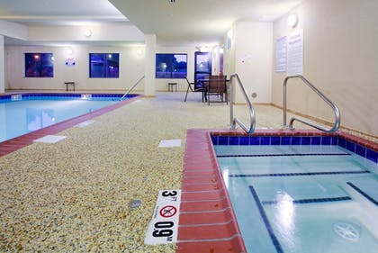 Pool | Holiday Inn Express Hotel & Suites Mount Airy