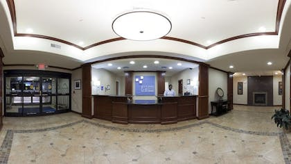 Reception   Holiday Inn Express Hotel & Suites Mount Airy