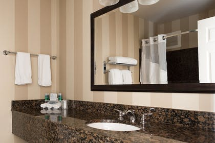 Bathroom | Holiday Inn Express & Suites Seattle North - Lynnwood