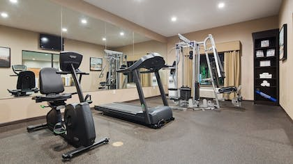 Fitness Facility | Best Western Plus Atrea Airport Inn & Suites