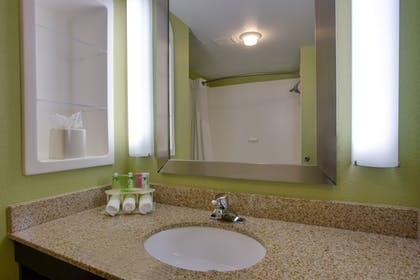 Bathroom | Holiday Inn Express Hotel & Suites Raleigh SW NC State