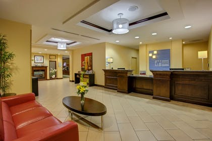 Lobby | Holiday Inn Express Hotel & Suites Raleigh SW NC State