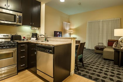 In-Room Kitchen | TownePlace Suites Dallas DeSoto