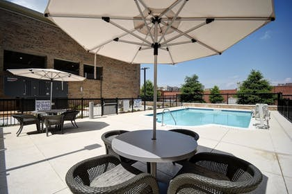 Outdoor Pool   Homewood Suites by Hilton Greenville Downtown