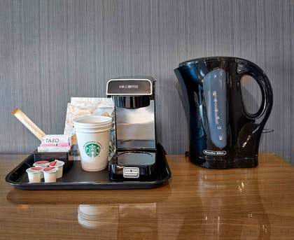 In-Room Coffee | Sandman Signature Plano - Frisco Hotel