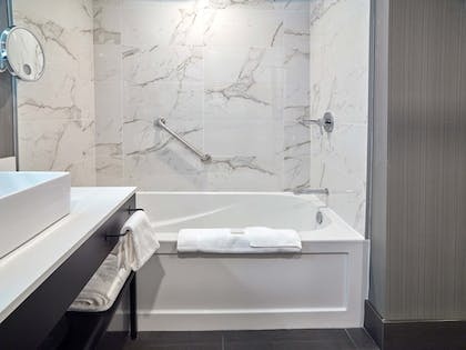 Deep Soaking Bathtub | Sandman Signature Plano - Frisco Hotel