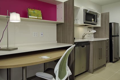 In-Room Kitchen | Home2 Suites by Hilton Port Arthur, TX