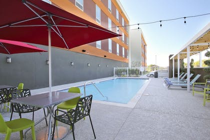 Outdoor Pool | Home2 Suites by Hilton Port Arthur, TX