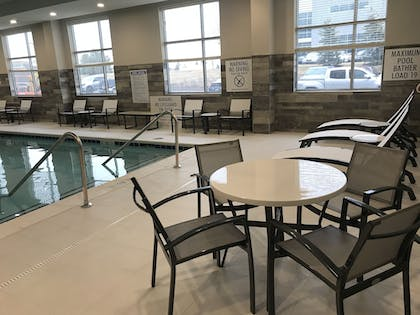 Indoor Pool | Embassy Suites by Hilton Plainfield Indianapolis Airport