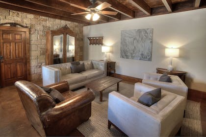 Living Room | The Lodge Above Town Creek