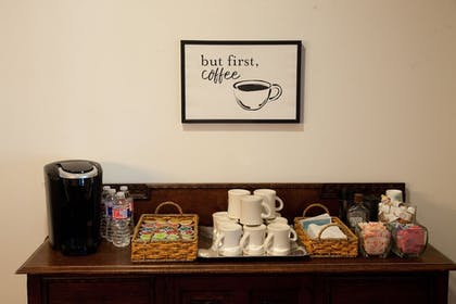 Coffee Service | The Lodge Above Town Creek