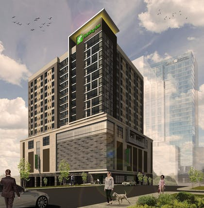 Exterior | Holiday Inn and Suites Nashville Dtwn - Conv Ctr