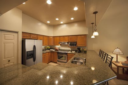 In-Room Kitchen | Canoa Ranch Golf Resort