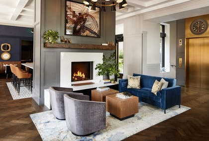 Fireplace | The Whitney Hotel