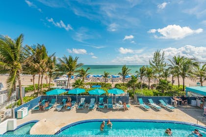 Outdoor Pool | MARENAS BEACH RESORT privately managed by Miami and the Beaches Rental