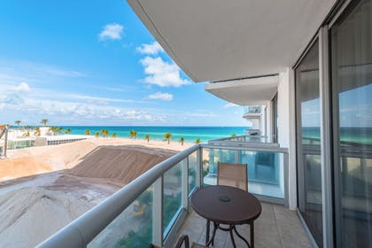 Balcony | MARENAS BEACH RESORT privately managed by Miami and the Beaches Rental