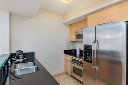 In-Room Kitchen | MARENAS BEACH RESORT privately managed by Miami and the Beaches Rental