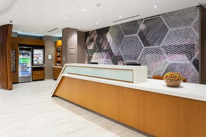 Lobby | SpringHill Suites by Marriott Fort Lauderdale Miramar