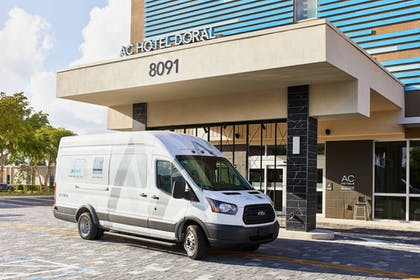 Airport Shuttle | AC Hotel by Marriott Miami Airport West/Doral