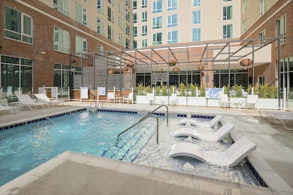 Sports Facility | SpringHill Suites by Marriott Greenville Downtown