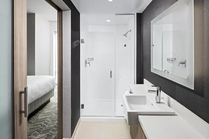 Bathroom | SpringHill Suites by Marriott Greenville Downtown