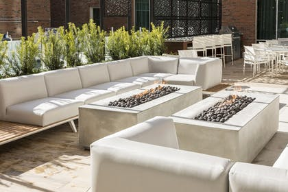 Terrace/Patio | SpringHill Suites by Marriott Greenville Downtown
