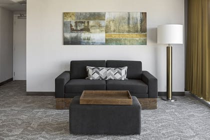 Living Area | SpringHill Suites by Marriott Greenville Downtown