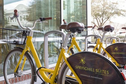 Bicycling | SpringHill Suites by Marriott Greenville Downtown