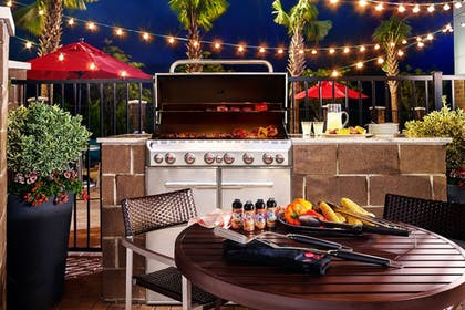 BBQ/Picnic Area | TownePlace Suites by Marriott Dubuque Downtown