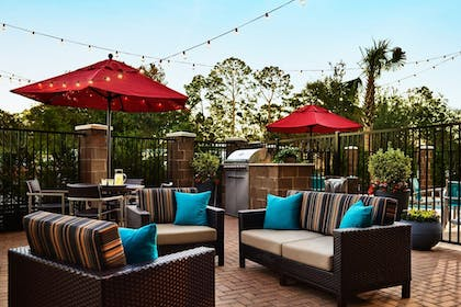 Terrace/Patio | TownePlace Suites by Marriott Dubuque Downtown