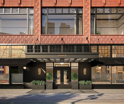 Hotel Entrance | Shinola Hotel