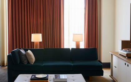 Living Area | Shinola Hotel